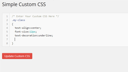 simple-custom-css