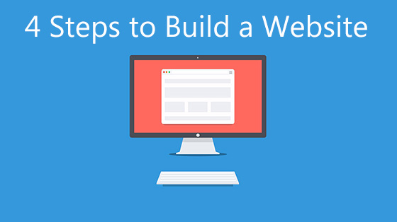 steps to build a website